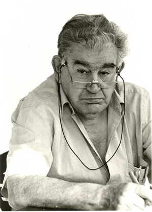 Antonio Gamoneda. Fotografía: Fernando Sanz-Santacruz.