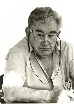 Gamoneda en una foto de Fernando Sanz Santacruz.