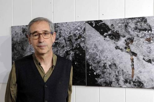 El escritor y fotógrafo Luis Marigómez.