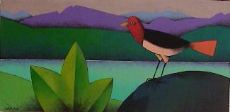 Una obra del pintor leonés Manuel Sierra.