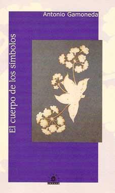 """Portada de """"El cuerpo de los símbolos"""" (edición mexicana)."""