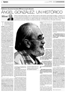 La página de La Voz de Asturias con el artículo.