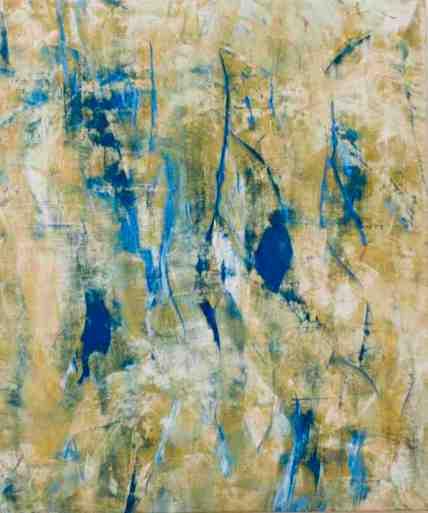 Cuadro S/T del pintor Juan Rafael.