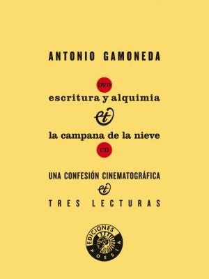 DVD. Antonio Gamoneda. Esritura y alquimia.