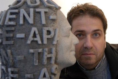 El poeta Jordi Doce.