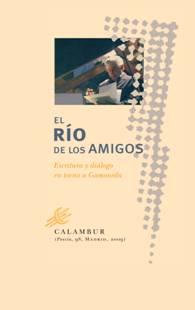 """Portada de """"El río de los amigos"""" (Ed. Calambur)"""