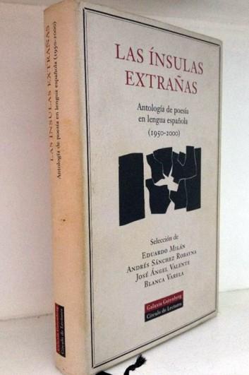 """Antología """"Las ínsulas extrañas""""."""