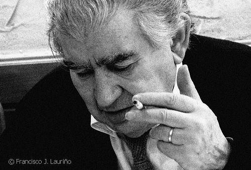 Antonio Gamoneda. © Foto: Francisco J. Lauriño.