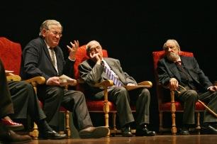 Gamoneda con Victoriano Crémer y Antonio Pereira.
