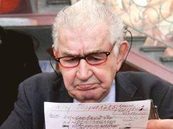 Antonio Gamoneda. © Fotografía: www.excelsior.com.mx