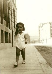 Gamoneda de niño (hacia 1932).