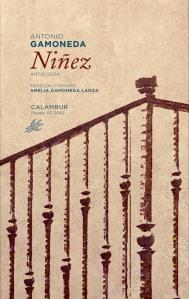 "Portada de la antología ""Niñez"" (Calambur Ed.)."