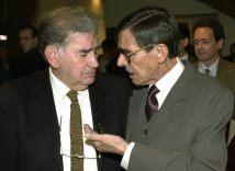 Gamoneda con José Ángel Valente.