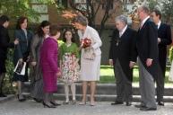 Una foto del 23 de abril de 2007, día en que el poeta recogió el Premio Cervantes.
