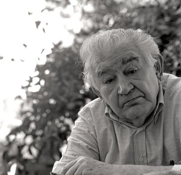 Antonio Gamoneda. © Fotografía: Fernando Sanz Santacruz.