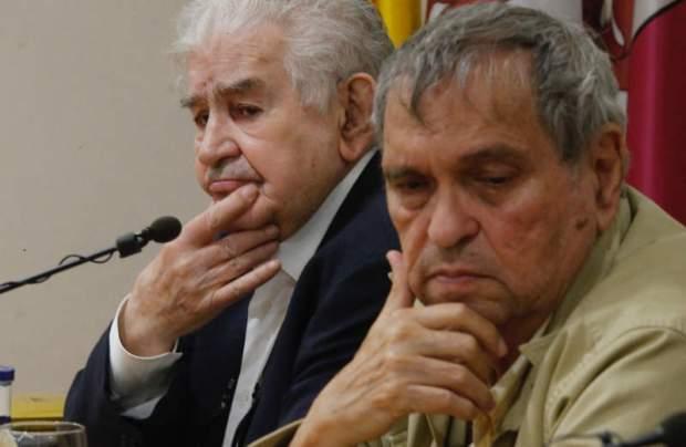 Antonio Gamoneda y Rafael Cadenas por ramiro