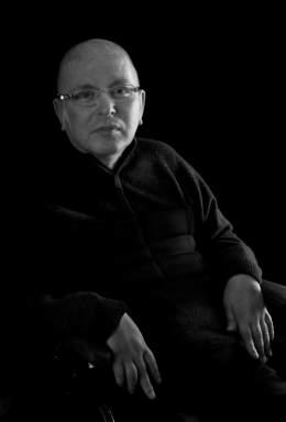 El poeta Luis Miguel Rabanal.