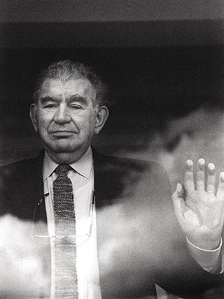 Antonio Gamoneda. Fotografía: Luis Asín.