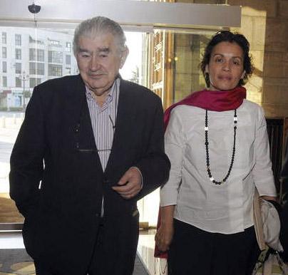 Antonio Gamoneda y Marifé Santiago Bolaños.
