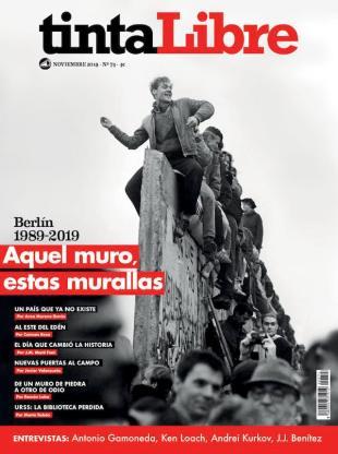 Portada de Tinta Libre, noviembre 2019.