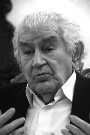Antonio Gamoneda. Foto: Eloy Rubio Carro.