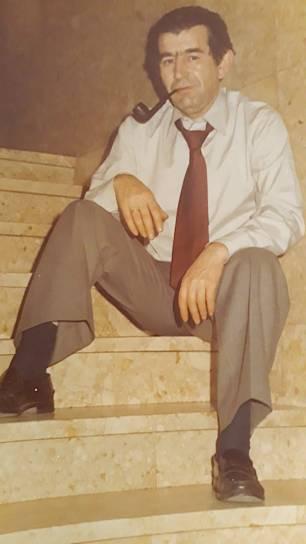 Antonio Gamoneda (h. 1982). Foto: Archivo de la familia Quindós Martín-Granizo.