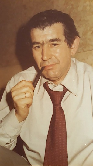 Antonio Gamoneda (h. 1982). Foto: Archivo de la familia Quindós Martín-Granizo